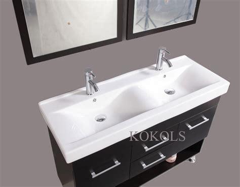 Bathroom Faucet Ideas by 48 Inch Modern Design Bathroom Double Vanities Sinks
