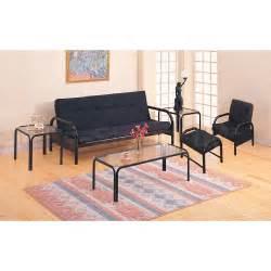 casual metal futon frame in black futons coa 2334 2