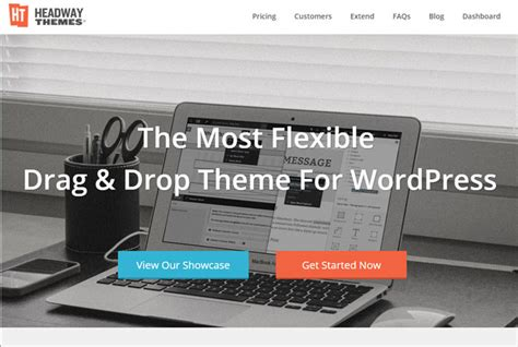 headway themes facebook 10 customizable wordpress themes without touching code