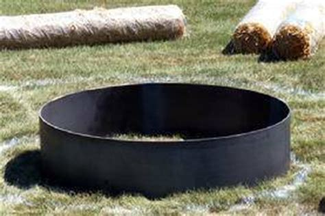 steel metal pit ring liner insert 30 quot x