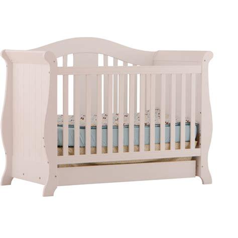 Storkcraft Crib by Storkcraft Vittoria Fixed Side Convertible Crib White