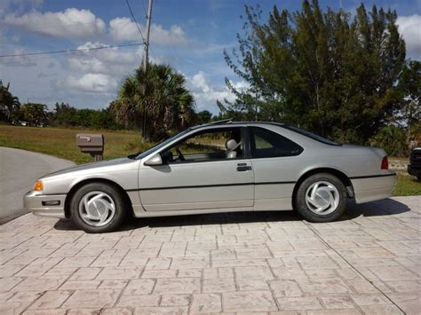 1989 ford thunderbird supercharged for sale