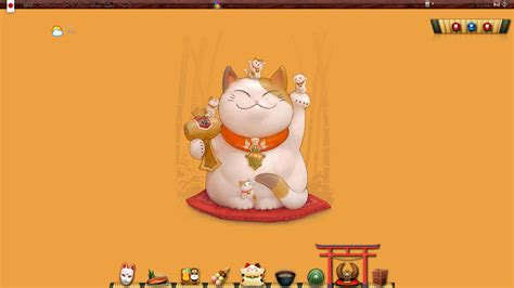 wallpaper japanese cat japanese lucky cat wallpaper wallpapersafari