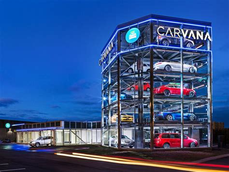 car company opens worlds  fully automated car vending machine abc news