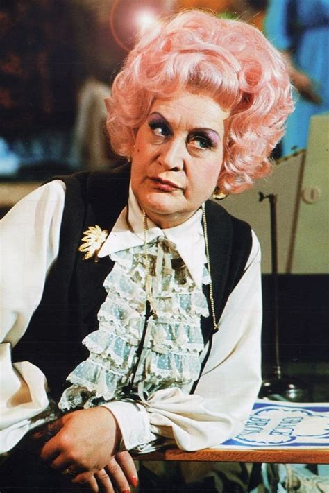 Mrs Hair pink hair mrs slocombe from quot are you being served quot 1972 hair are you