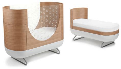 crib transforms into bed ubabub pod cot inhabitots