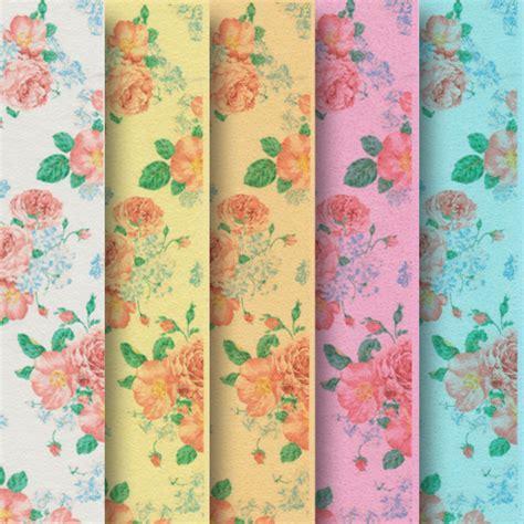 printable edible paper floral pattern printed wafer paper sle pack