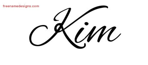 kim archives free name designs