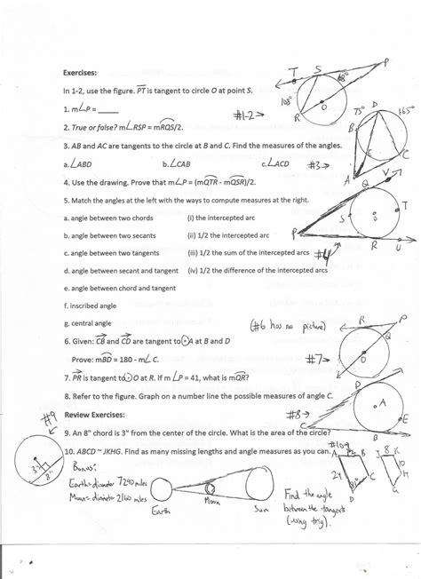 geometry 10 2 worksheet answers 10 2 measuring angles and arcs worksheet answers free