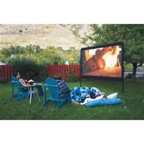 backyard movie projectors amazon com backyard outdoor home theater in a box