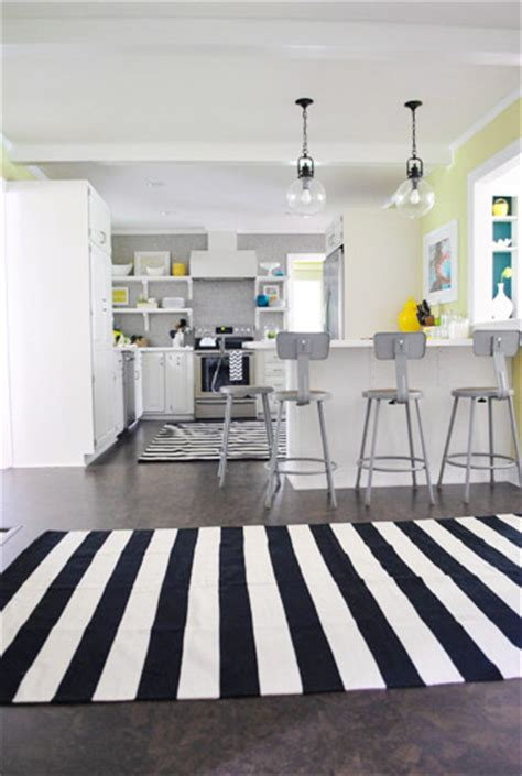 Striped Kitchen Rug Kitchen Striped Kitchen Rug Ideas To Enhance Your Kitchen Look Flatweave Rugs Kitchen Mats