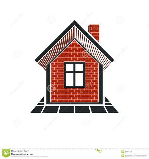 graphic design house simple house icon for graphic design mansion conceptual symbol stock vector image