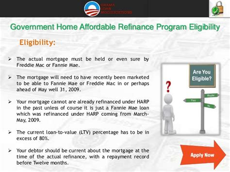 home affordable refinance plan home affordable refinance program application form www