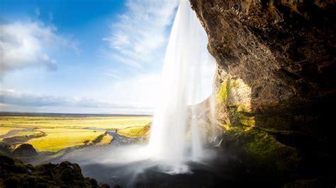 iceland waterfall hd wallpapers 4k seljalandsfoss waterfall iceland 4k ultra hd desktop wallpaper