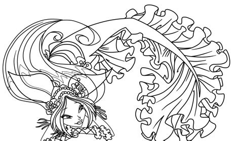 winx mermaids coloring pages winx club cartoon az coloring pages