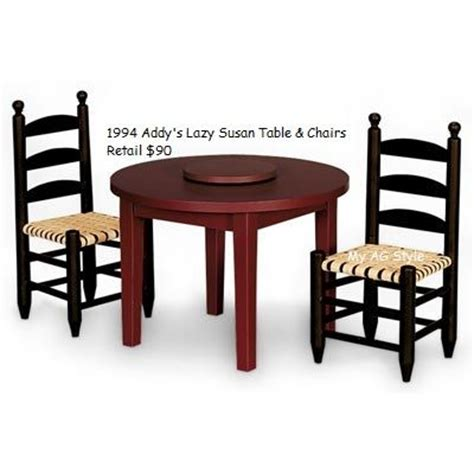 american doll table and chairs 15 best images about ag house kitchen dining room on