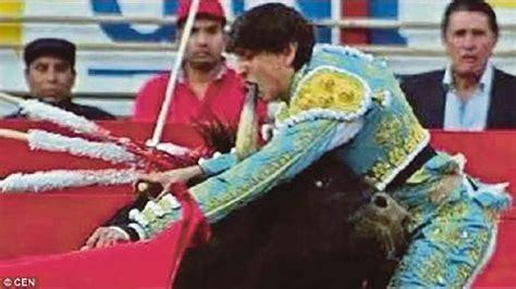 granero bullfighter mulut matador ditusuk tanduk lembu jantan mynewshub