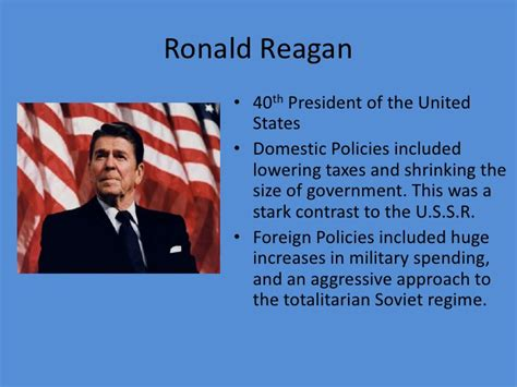 president ronald reagan ppt video online download cold war power point 2007