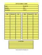 Church Annual Report Template logs and inventory templates