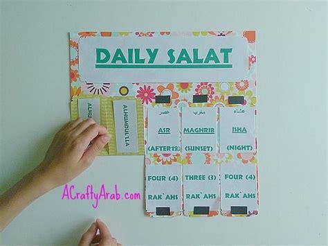 Bag Hanger Religi Moslem islamic daily salat prayer chart salat prayer islamic