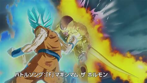 imagenes de goku golden goku ssgss vs golden freezer dans un trailer explosif