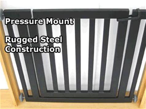 petstop libro pet gate pressure mounted metal gate