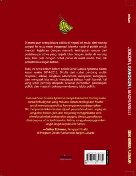 Jokowi Sangkuni Machiavelli Obrolan Politik bukukita jokowi sangkuni machiavelli toko buku