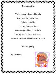 Thanksgiving Peom Holiday Poem Generator K 5 Computer Lab