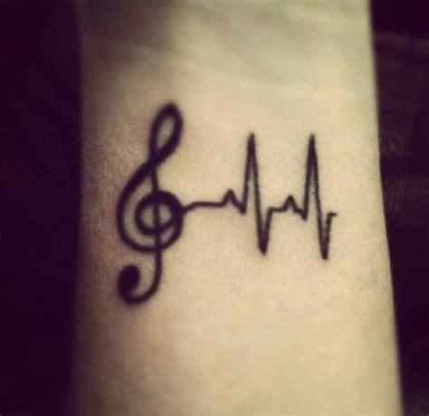 Fotos de tatuagem de notas musicais   Fotos de Tatuagens