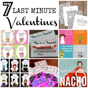 Last Minute Valentines Specials by Last Minute Valentines 7 Dandy Ones Seeing Dandy