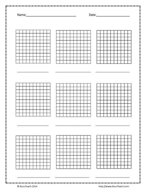 75 Best Math Grids Images On Pinterest Mathematics