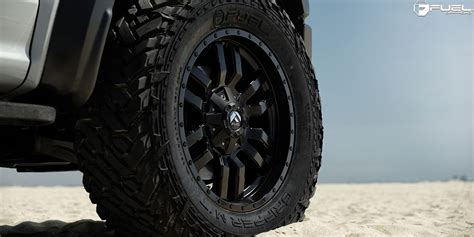 On Wheels by Go Nuts With This Ford F 150 Raptor On Fuel Wheels