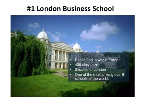Mba Schools In Uk by Best Business Schools In The Uk