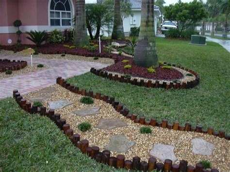 Yard Decorations Ideas | landscape decorations ideas for front of house shade