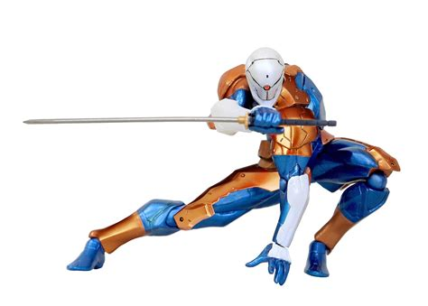 Metal gear solid cyborg ninja action figure geek decor
