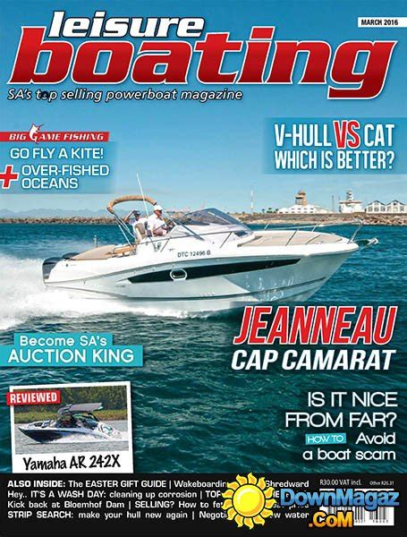 leisure boating magazine leisure boating march 2016 187 download pdf magazines