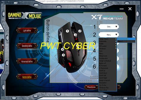 Mouse Macro Rexus X7 purwokerto cyber community setting macro x7 rexus 6d sg 3q1 new update settingan 10
