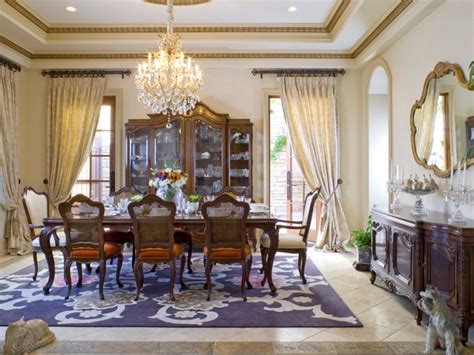 dining room best dining room window treatments ideas