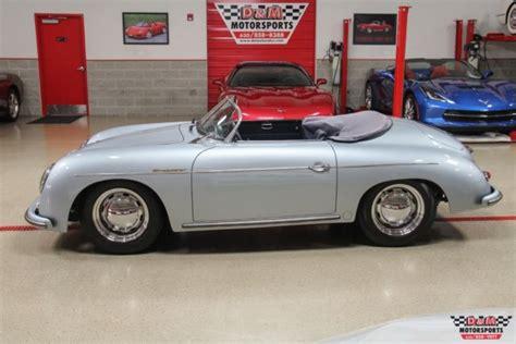 porsche speedster blue 1957 porsche speedster replica beck 5446 silver blue