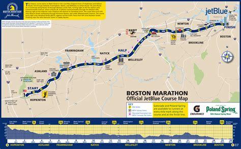 boston marathon route map hill for days ifartlek