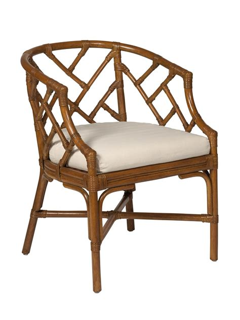 cottage wicker rattan club chair cottage home 174