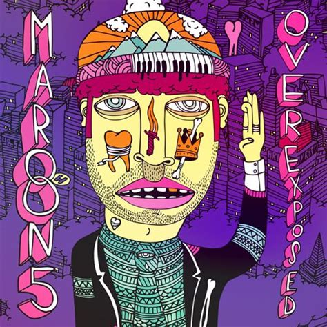 sketch comedy albums maroon 5 overexposed album cover by and sick