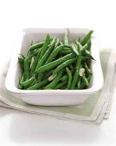 microwave steamed garlic green beans recipe martha stewart