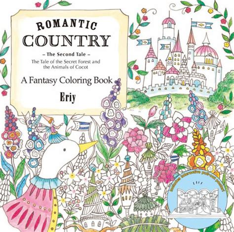 libro romantic country a fantasy romantic country the second tale a fantasy coloring book by eriy paperback barnes noble 174