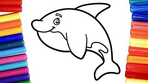 dolphin coloring book coloring dolphin coloring book for children