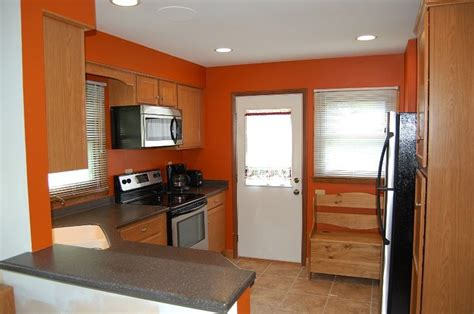 behr paint in orange for kitchen we bought a house pintere