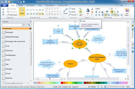 design elements concept map concept maps solution conceptdraw com