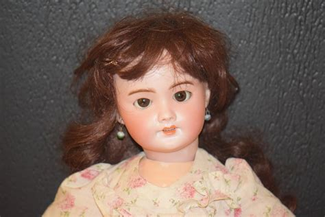 how to string a bisque doll antique doll bisque sfbj 301 w pull crier strings sweet