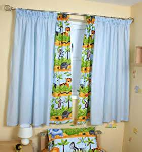 baby nursery curtains window treatments com safari curtains blue baby nursery window