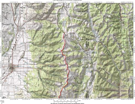 utah elevation map topographic map of utah my
